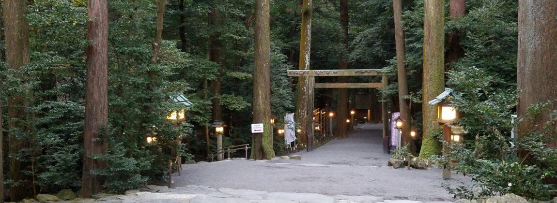 椿大神社 参道