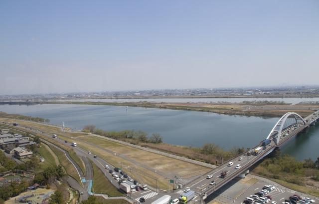 木曽三川 長良川