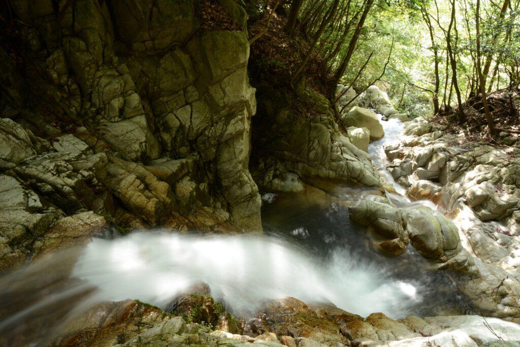 宇賀渓の五階滝