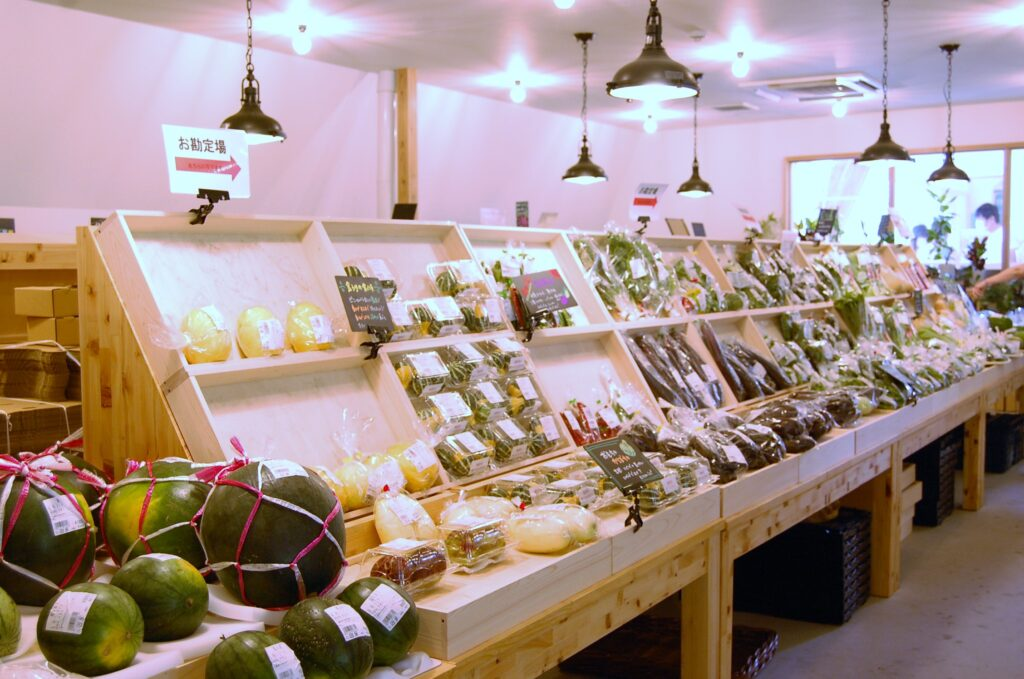 マルシェヴィソン 野菜 産直市場
