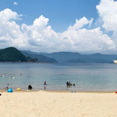 こっそり教えたい、紀北町島勝浦 和具の浜海水浴場