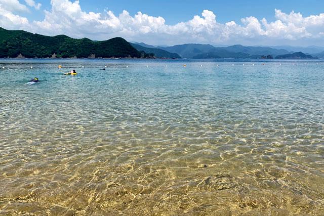 紀北町島勝浦 和具の浜海水浴場