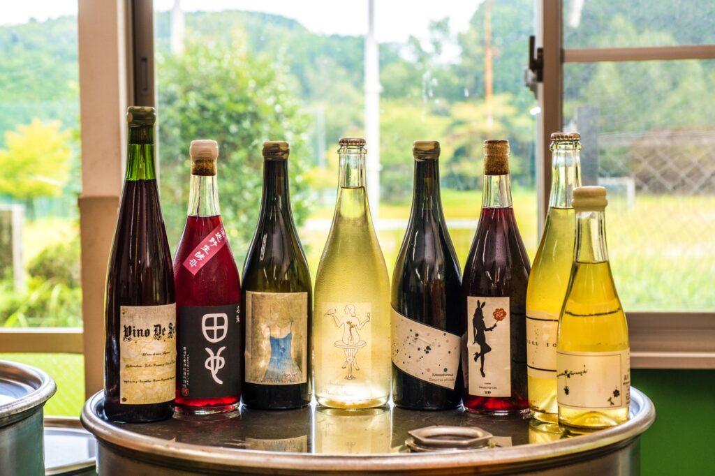 國津果實酒醸造所 ワインボトル