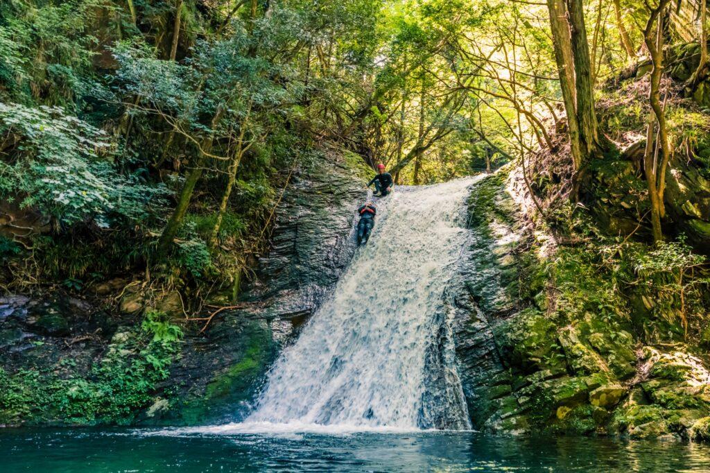 赤目渓谷源流冒険ツアー 赤目四十八滝