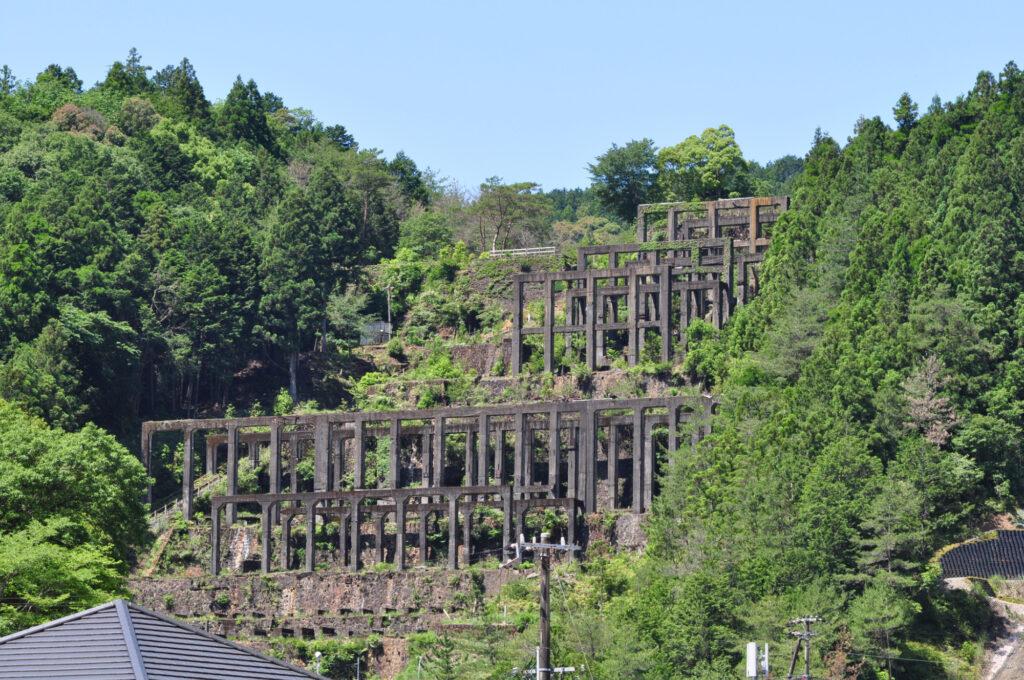 紀州鉱山選鉱場跡
